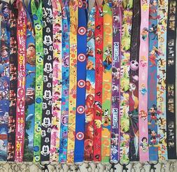 PICK ONE! DISNEY WORLD LANYARD FOR PIN TRADING! CARS MONSTER