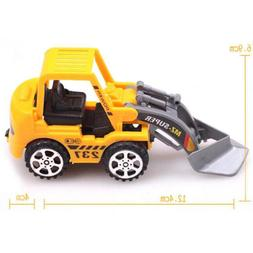 Play Engineering Vehicle Model Free Wheel Plastic Diecast Fo