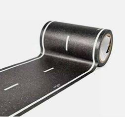 PlayTape Black Road 30x4 Road Car Tape Sticker Roll for Cars
