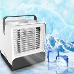 Portable Mini Air Conditioner Humidifier Cool Cooling Fan fo