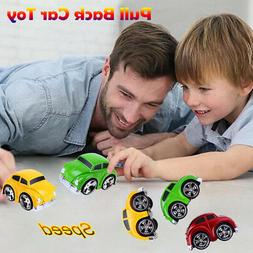Pull Back Car Mini Plastic Vehicle Toys For Kids Child Party