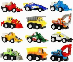 Toy Cars for Toddlers Boys Kids - Pull Back Truck and Car Pa