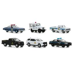 Hot Pursuit Series 29, Set of 6 Cars 1/64 Diecast Models by