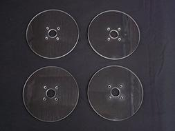 QSC Quarter Scale Car Round Lexan Toe Plates