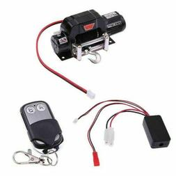 Racing 1:10 Scale Electric Winch Metal for RC Car Crawlers T