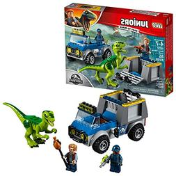 LEGO Juniors/4+ Jurassic World Raptor Rescue Truck 10757 Bui