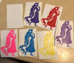 Rapunzel Disney Princess Decal For Car/Wall/Misc.