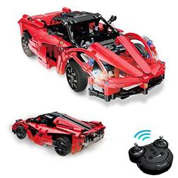 Geekper RC Building Block Car - 380 PCS Remote Building Bloc
