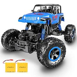 RC Car, SHARKOOL Newest 2.4 Ghz 4WD RC Trucks 1/18 Scale Rem