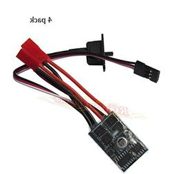 Hobbypower RC ESC 10A Brushed Motor Speed Controller 1/16-24