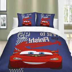 Red Car Duvet Cover Set for Comforter Twin Full Queen King B