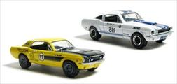 Road Racers 1967 Ford Mustang & 1965 Shelby GT-350 2pc Car S