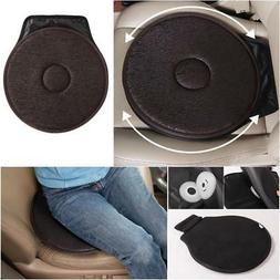 Rotating Car Seat Revolving Pad Cushion Swivel Aid Chair for