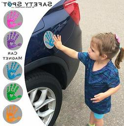 Safety Spot ™ MAGNET - Kids Handprint for Car Parking Safe