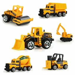 Sand Toys Set, 6pcs Mini Construction Vehicles Sandbox  Car
