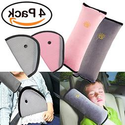 R ? HORSE 4Pack Seatbelt Pillow Car Seat Belt Covers for Kid