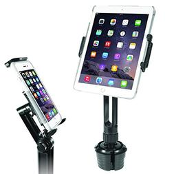Macally 2-in-1 Heavy-Duty Car Cup Holder Mount | Works with
