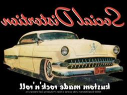 Licenses Products Social Distortion Car Sticker