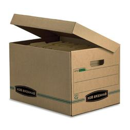 Bankers Box Stor/File 100% Recycled Basic-Duty Storage Boxes