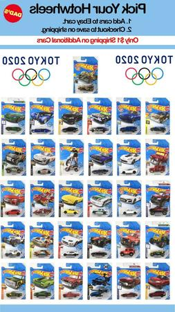 Summer 2020 Hot Wheels Tokyo Olympics,You Pick,M Case, Save