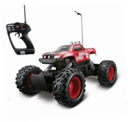 Maisto Tech Red Radio Control Rock Crawler RC Remote Control