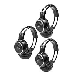 3 Pack of Two Channel Folding Adjustable Universal Rear Ente