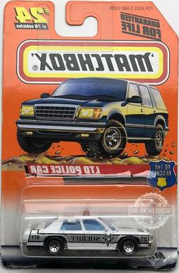 MATCHBOX TO THE RESCUE LYD POLICE CAR