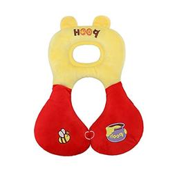 Children Toddlers Soft Car Seat Headrest Pillow, Baby Stroll