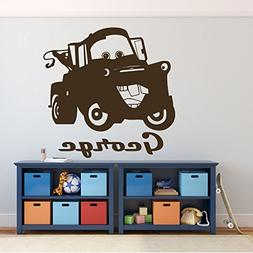 Tow Mater Wall Decal - Disney Pixar Cars Personalized Wall D