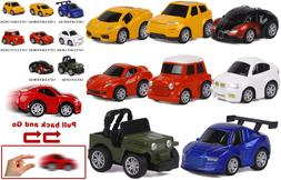 ToyerBee Car Toys-Die-cast Cars and Pull Back Vehicles for T