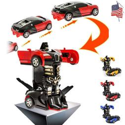 toys for boys robot transformers car kids