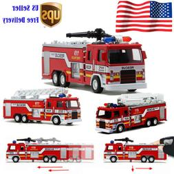 Toys for Boys Truck Toy Kids Fire Truck Car 3 Models Cool Ch