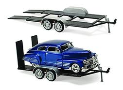 Trailer Car Carrier - Motormax 76001 - 1/24 scale Diecast Mo