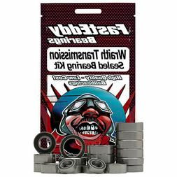FastEddy Bearings Transmission Sealed Bearing Kit For Axial