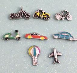 Transportation charms for your  floating locket origami owl