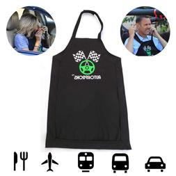 Travel Bib for Men, Women & Kids| Clothing Protector Apron f