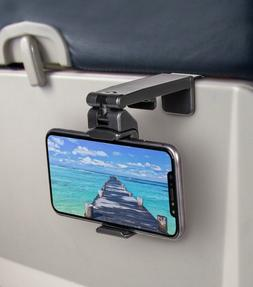 Universal Travel Phone Holder For Airplane, Luggage Handle,