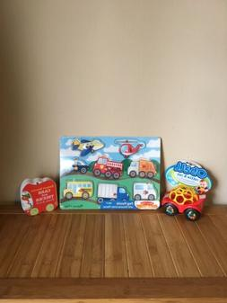 Trio Of Brand New Car Toys For Baby Including Melissa And Do