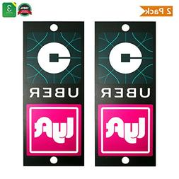 DTXDTech UBER LYFT SIGN Removable Decal Sticker With Bigger