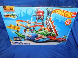 Hot Wheels Ultimate Gator Car Wash Play Set - Color Shifters