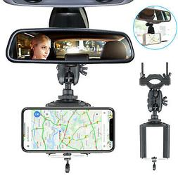Universal Auto Car Rear View Mirror Mount Stand Holder Cradl