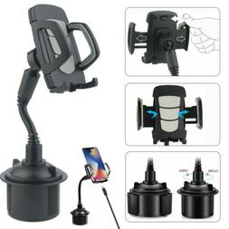 Universal Car Mount Adjustable Gooseneck Cup Holder Stand Cr
