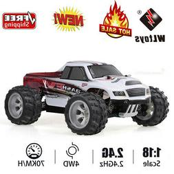 USA WLtoys A979-B 2.4G 1/18 1:18 4WD 70KM/H Electric Crawler