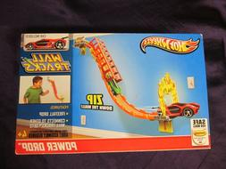 Hot Wheels Wall Track Power Drop with Red Impavido Car inclu