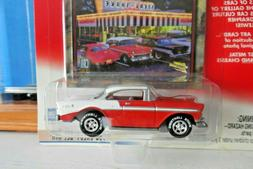 JOHNNY WHITE LIGHTNING  1956 CHEVY BEL AIR - CAR CULTURE - A