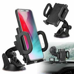 360° Car Windshield Mount Holder Bracket Cradle Stand For C