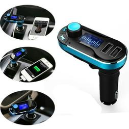 Wireless Music to Car Radio FM Transmitter For 3.5mm MP3 iPo